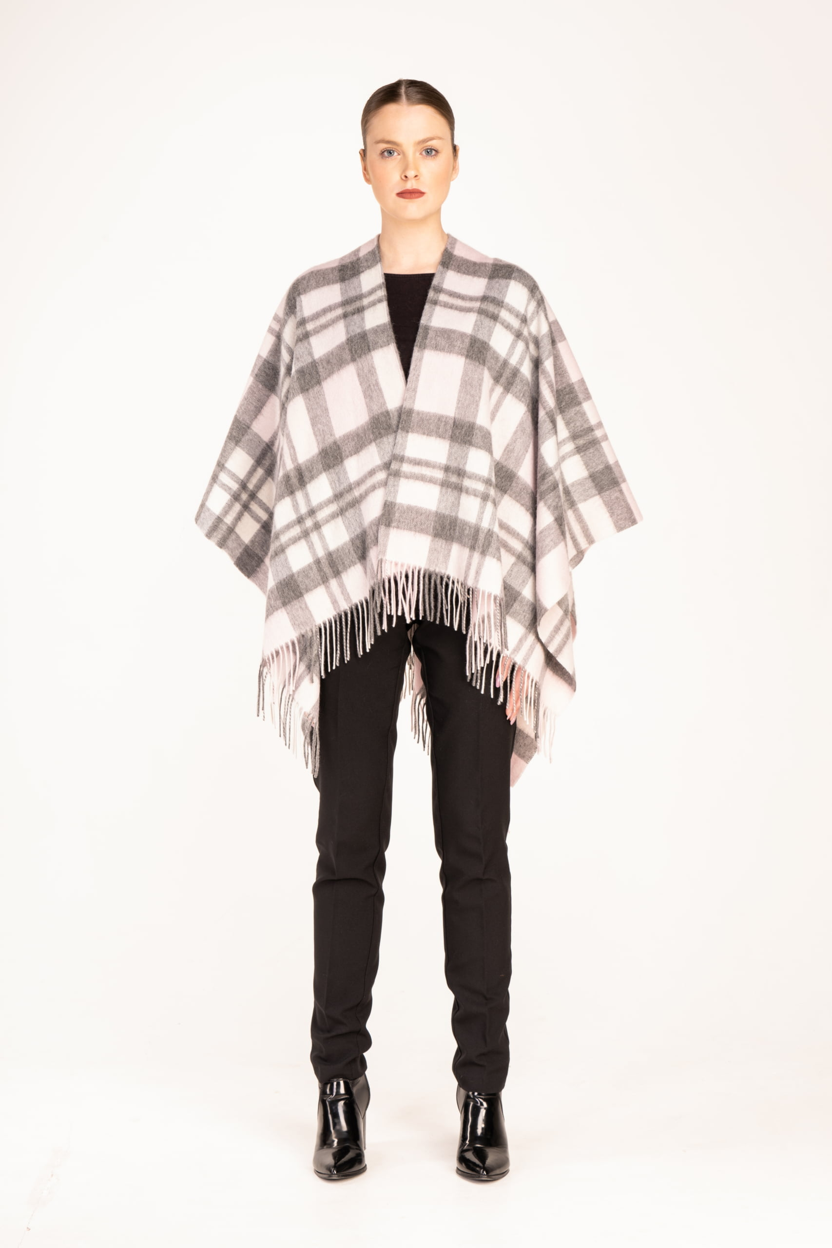 1 Exploded Thomson Pink Lambswool Cape scaled