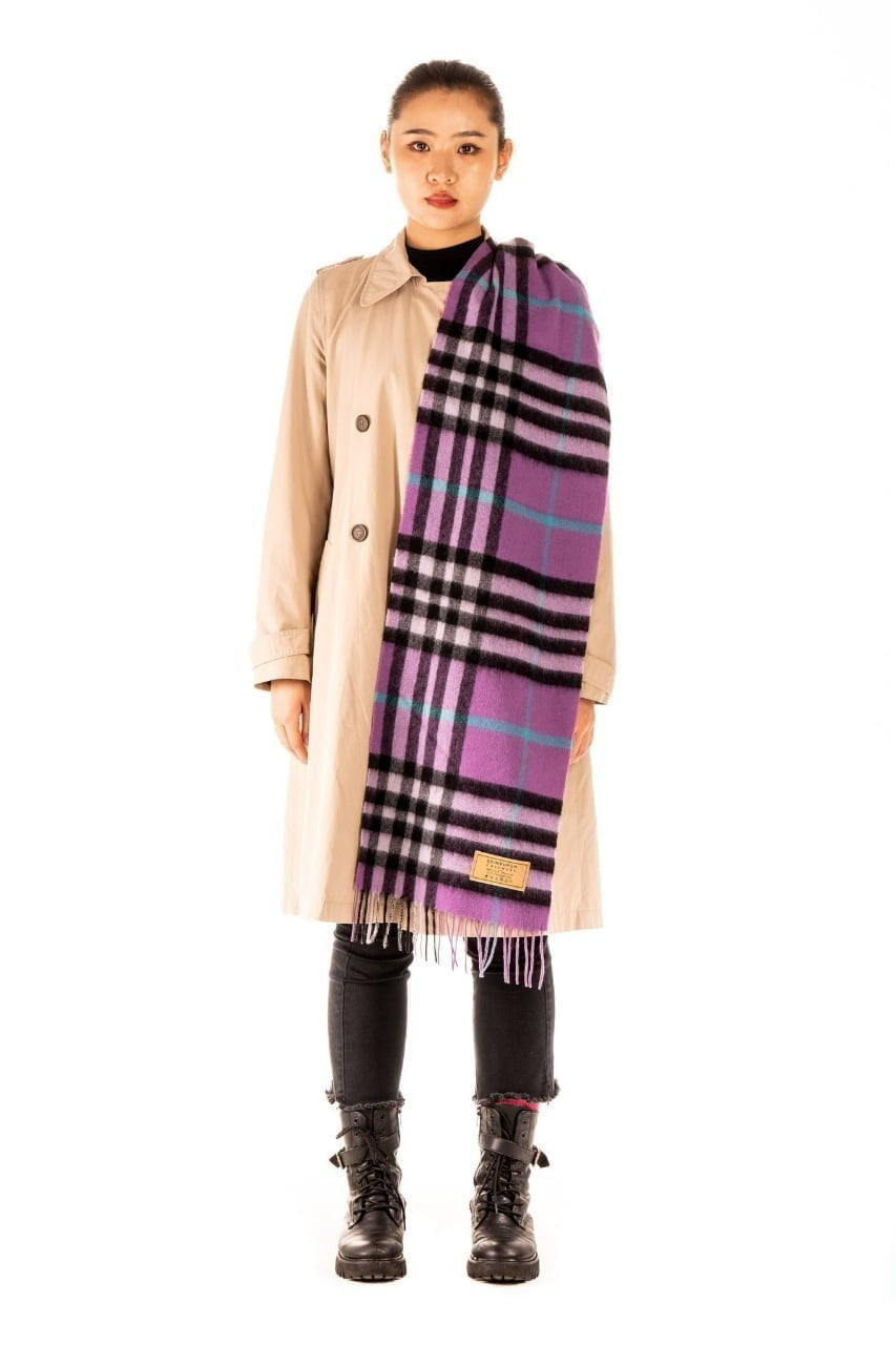 DC Classic Check Scarf Scarves 0008 7