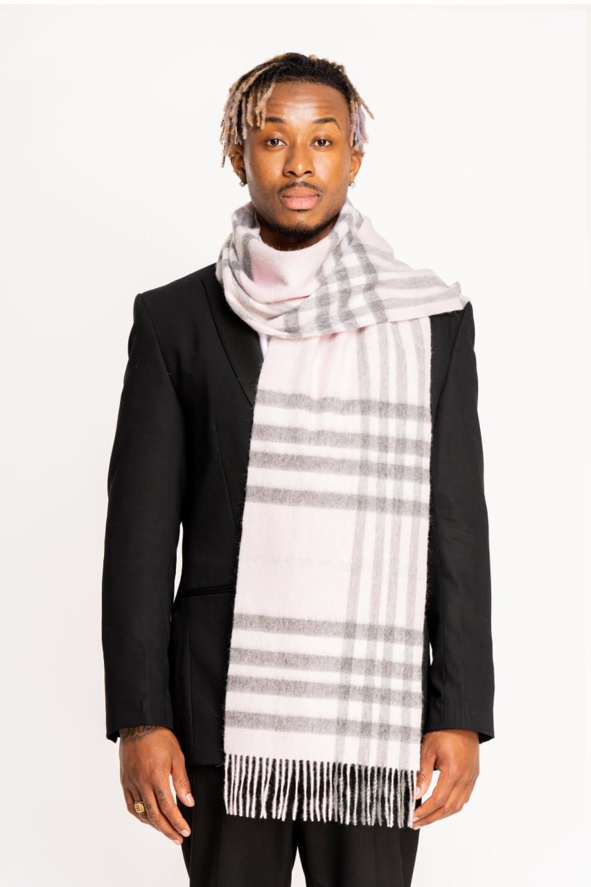 DC Classic Check Scarf Scarves 0051 5