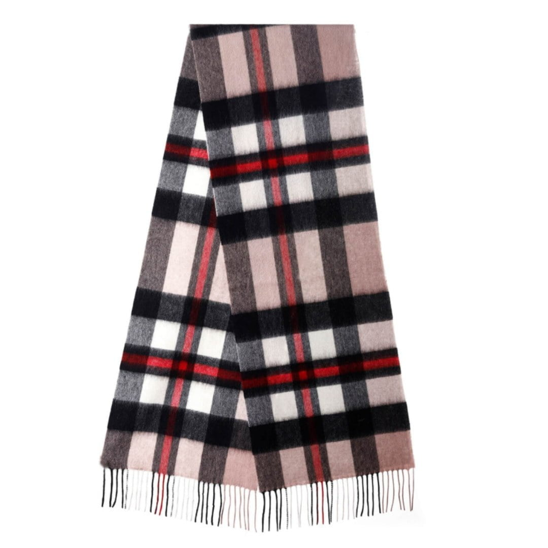 100 Pure Lambswool Exploded Thomson Camel Extra Fine Lambswool Scarf