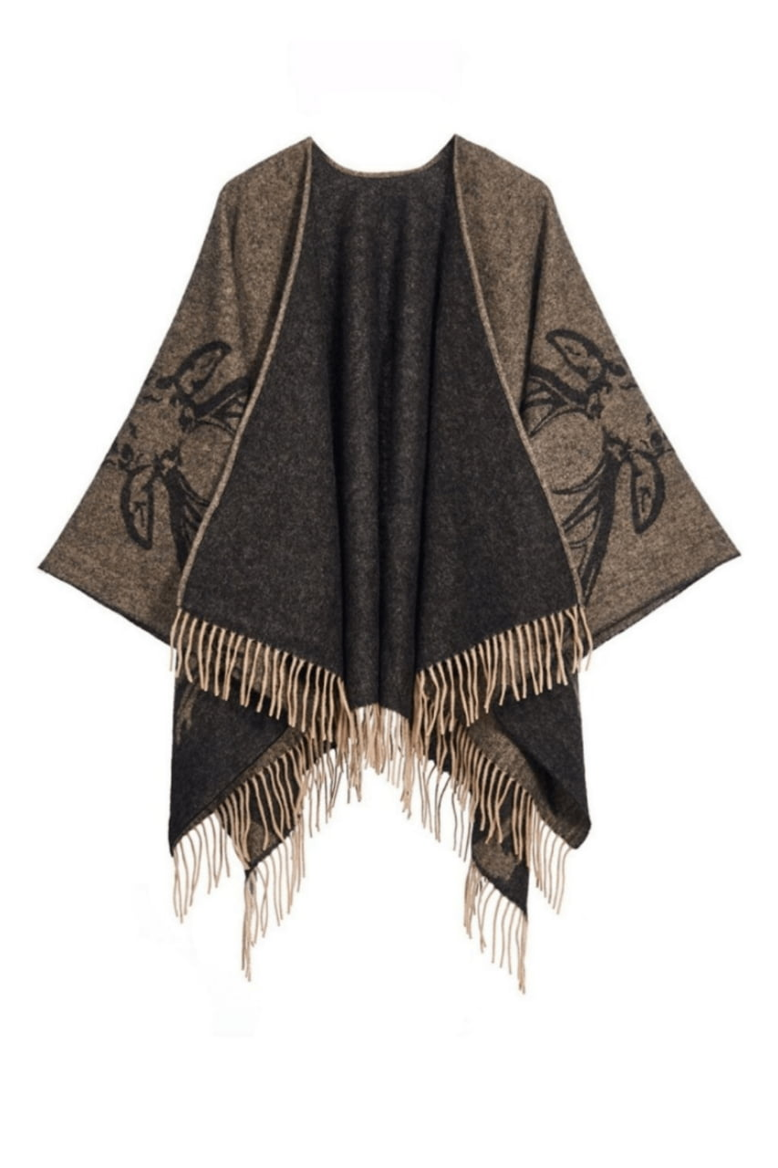 Full Stag Reversible Cape Capes 0037 1