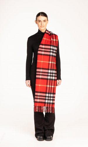 1 SCARF EC RED CHECK  scaled